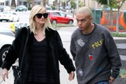 Couple Ashlee Simpson and Evan Ross doing some Christmas shopping in Beverly Hills, California on December 20, 2014. The couple recently announced that they are expecting their first child together.