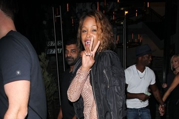 Eve Celebrities Dine Out at Catch Restaurant
