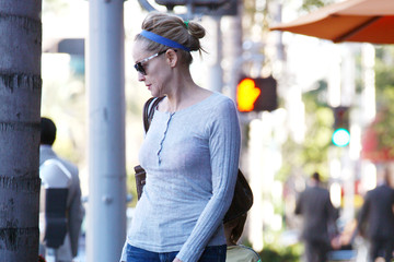 Sharon Stone Quinn Stone Exclusive… Sharon Stone Grabs A Sweet Treat With Quinn