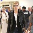Gigi Hadid & Cody Simpson Arriving on a Flight at LAX