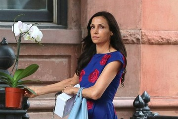 Famke Janssen Famke Janssen Running Errands In New York