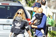 Fergie Spends the Day with Family — Part 2