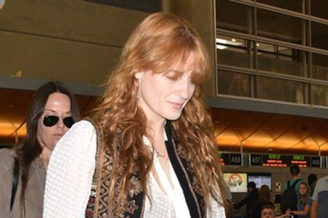 Florence Welch Florence Welch Catches a Flight at LAX