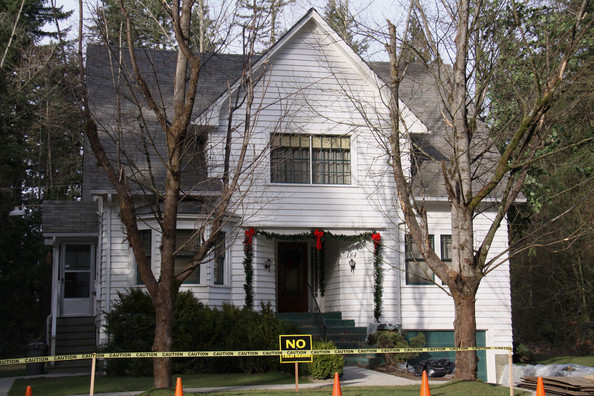 General views show the house that will serve as Bella's (Kristen Stewart's character) house in the new