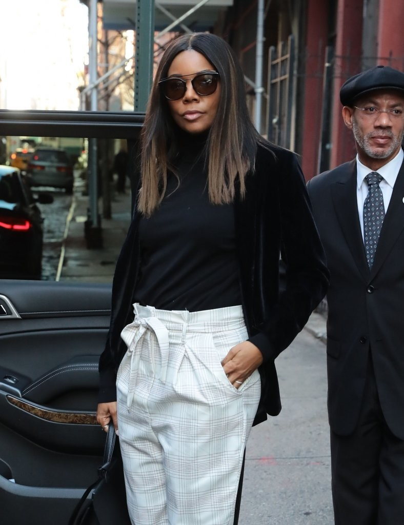 5e260d673 Gabrielle Union Photos Photos - Gabrielle Union Steps Out In NYC ...