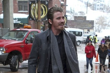 Garrett Hedlund Celebrities Are Seen Out and About at the 2017 Sundance Film Festival