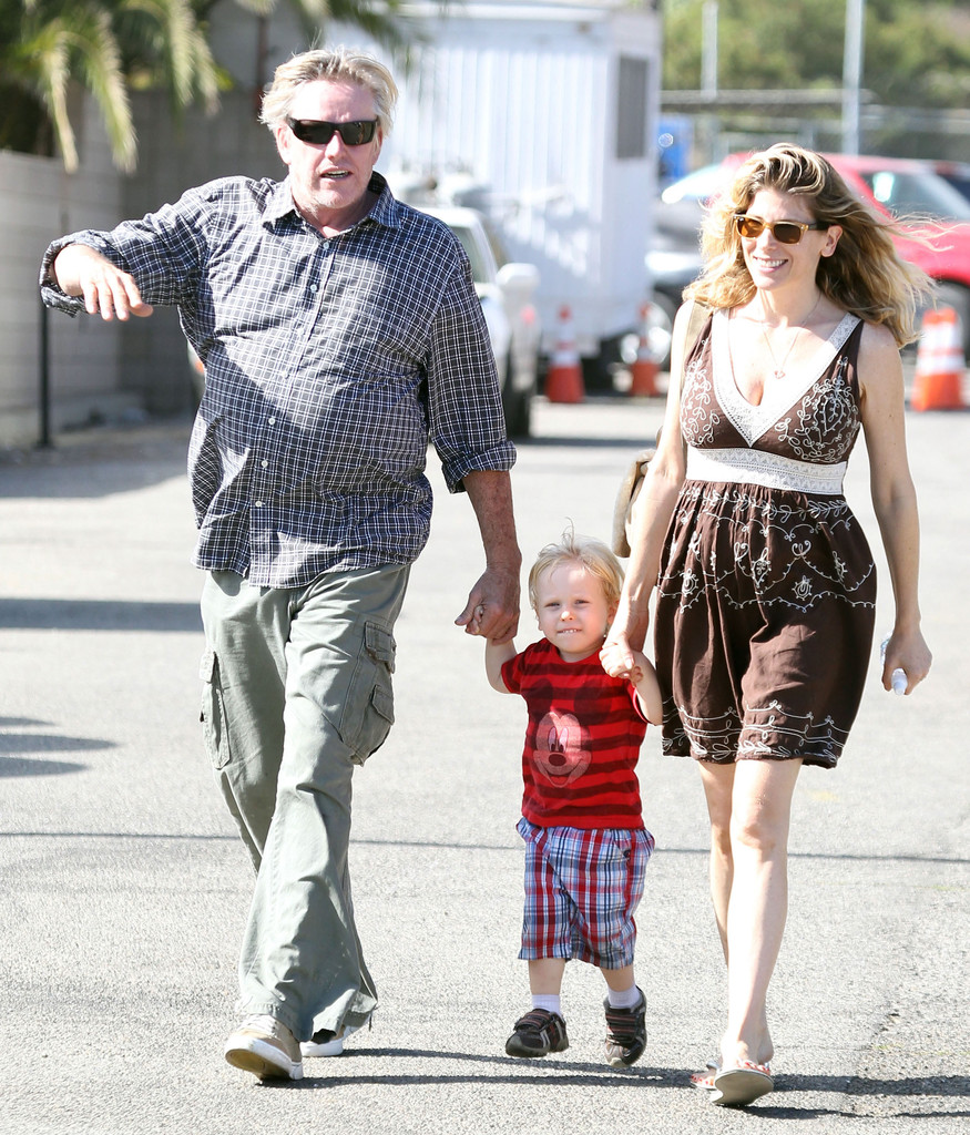 Steffanie Sampson Photos Photos - Gary Busey And Family At ...