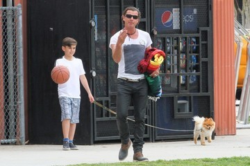 Gavin Rossdale Gavin Rossdale Watches His Son's Soccer Game