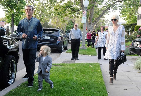 Gavin Rossdale Photos Photos Gwen Stefani And Family At