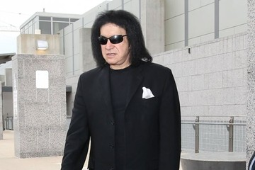Gene Simmons Celebs Leaves the SXSW Festival