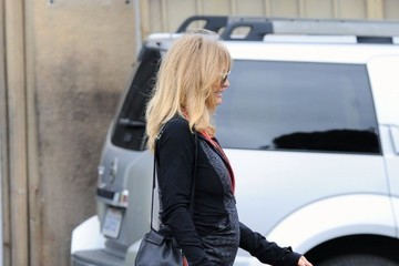 Goldie Hawn Goldie Hawn and Kurt Russell Get Breakfast Together in LA