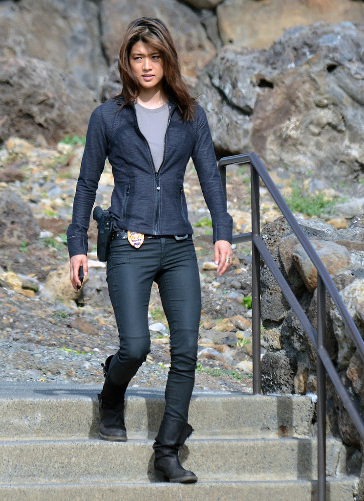 grace park in jeans naked