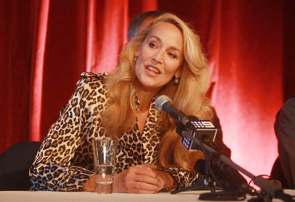 jerry hall in the graduate presss conference in perth