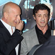 Sylvester Stallone and Bruce Willis Photos