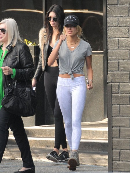 Kendall Jenner and Hailey Baldwin Go Shopping in Beverly Hills