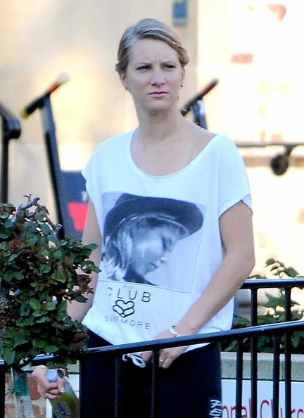 "Heather Morris - ""Glee"" Films in LA"