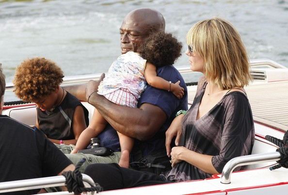 heidi klum seal children. Heidi Klum, Seal and their