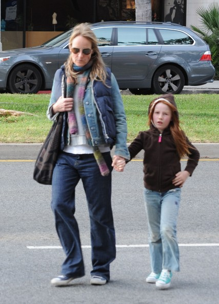 Helen Hunt and family