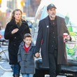 Hilarie Burton Jeffrey Dean Morgan Grabs Coffee With His Wife And Son