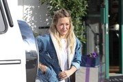 Hilary Duff Lunches At La Conversation