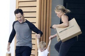 Hilary Duff Mike Comrie Hilary Duff & Family Enjoy A Day Together In Beverly Hills