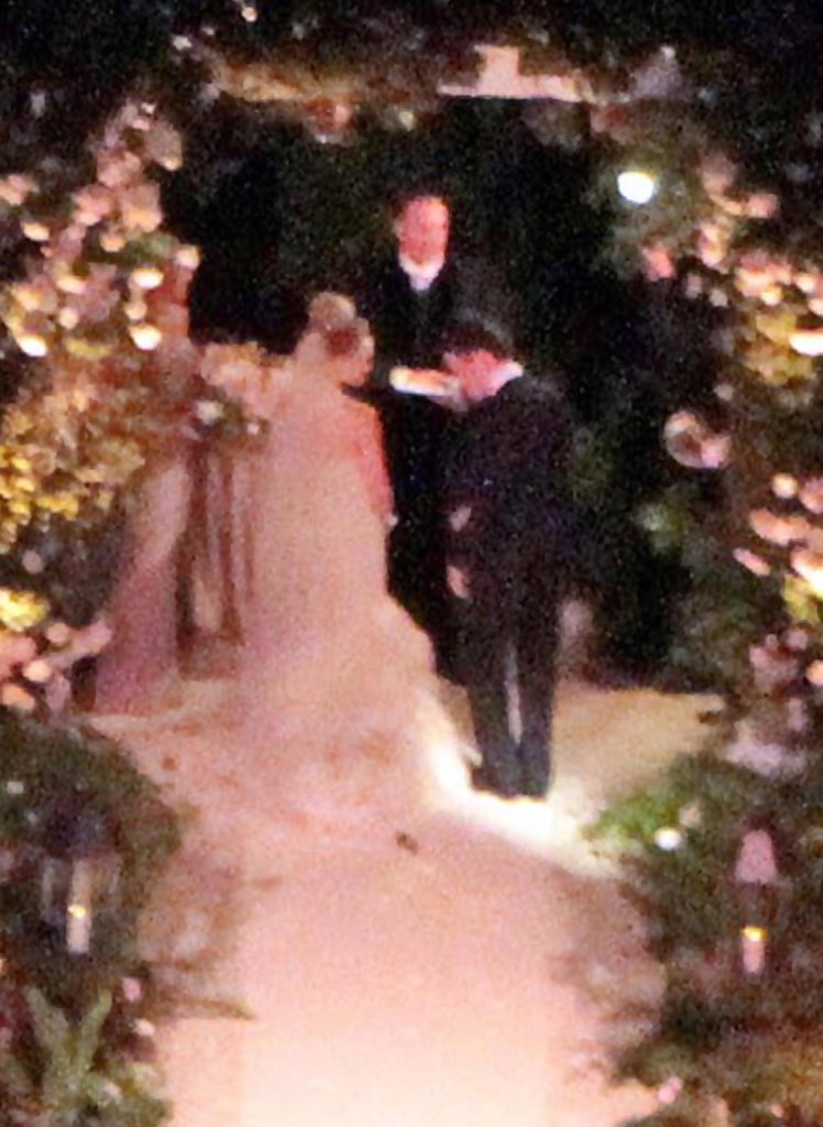 Mike Comrie In Hilary Duff And Mike Comries Wedding In Santa Barbara