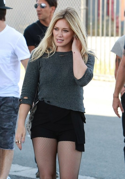 Hilary Duff Shooting Her Music Video For 'All About You ... Hilary Duff Songs