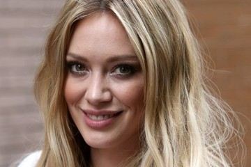 Hilary Duff Hilary Duff Stops by 'The View'  Hilary Duff