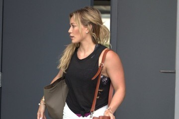Hilary Duff Hilary Duff Stops by the Stella McCartney Boutique