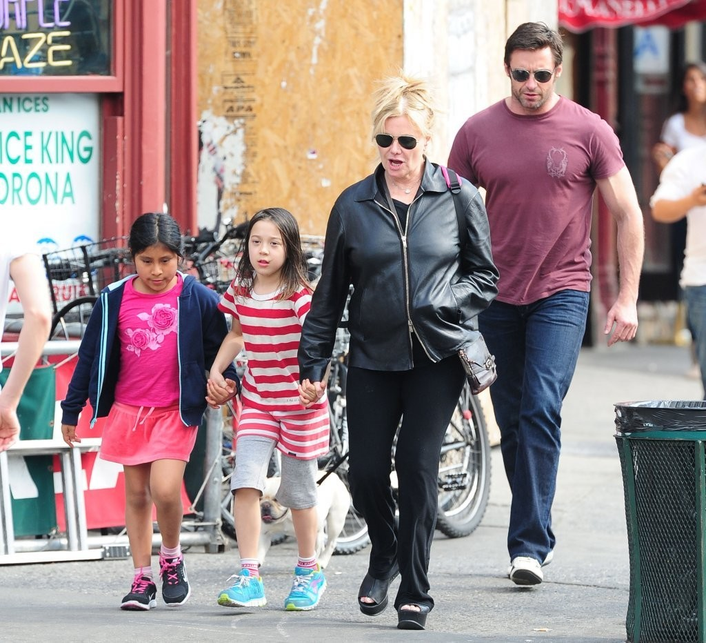 Hugh Jackman Out With ...