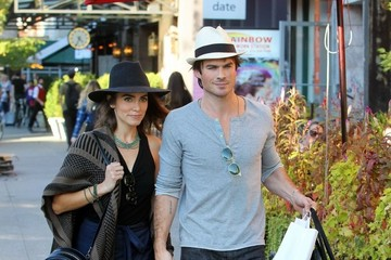 Ian Somerhalder Ian Somerhalder and Nikki Reed Out and About in NYC
