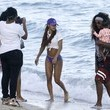 Iman Tayla Shumpert Jr. Teyana Taylor and Her Family Enjoy a Day at the Beach in Miami