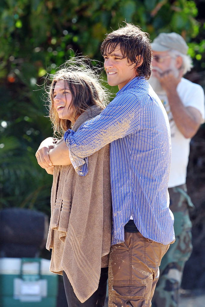 Indiana Evans In Indiana Evans And Brenton Thwaites Film