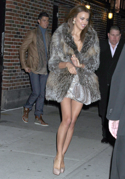 Irina Shayk On Letterman image
