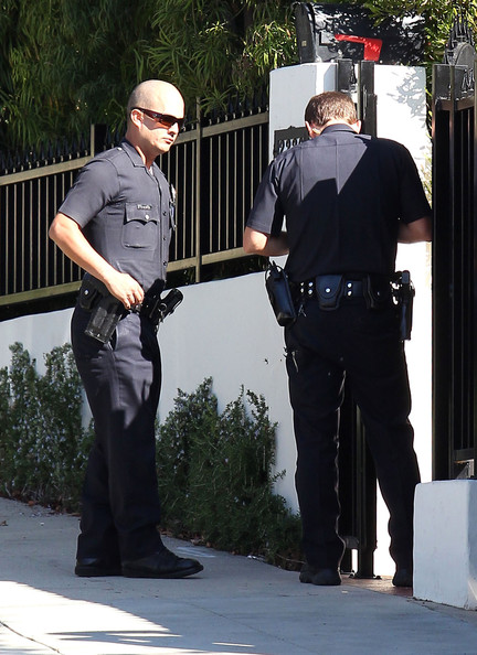 Jack osbourne arrives at his house shortly after the cops pictures