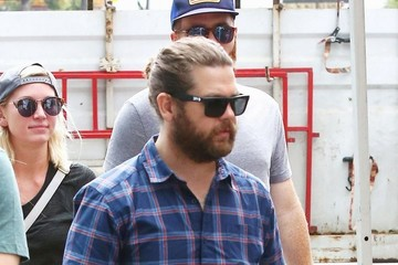 Jack Osbourne Jack Osbourne And Family At Farmer's Market In Studio City
