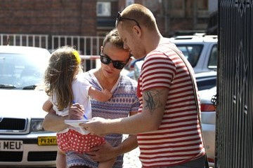 Jack P Shepard Jack P. Shepard Out with Girlfriend Lauren Shippey and Daughter Nyla