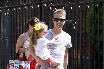 Lauren Shippey Jack P. Shepard Out with Girlfriend Lauren Shippey and Daughter Nyla