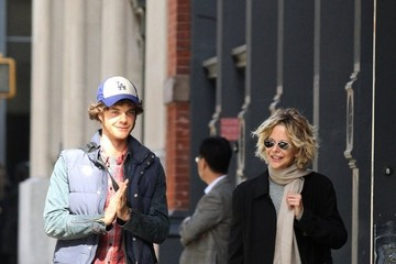 Jack Quaid Meg Ryan and Son Jack Quaid Out and About in New York City