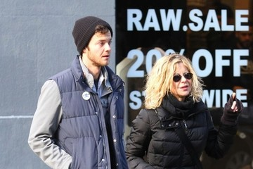 Jack Quaid Meg Ryan and Jack Quaid Head Out in New York