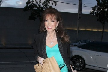Jackie Collins Celebrities Dine Out at Craig's Restaurant