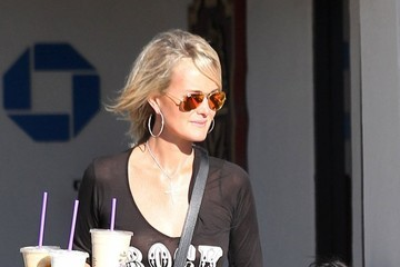 Jade Hallyday Johnny Hallyday & Family Out Shopping In Malibu