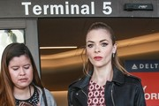 Jaime King Films for Delta Airlines at LAX