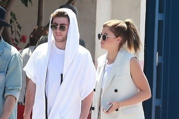 Jake Andrews Sofia Richie and Jake Andrews Spotted Out in Malibu