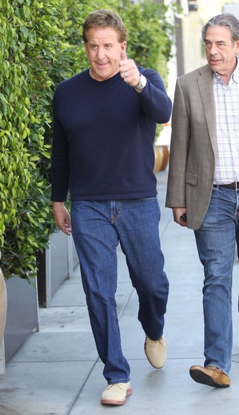 Jake Steinfeld Has Lunch in Beverly Hills