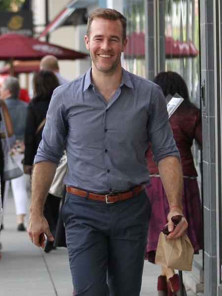 james van der beek dwts