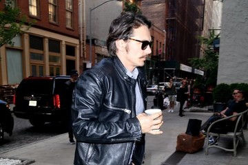 James Franco James Franco Grabs a Coffee in NYC