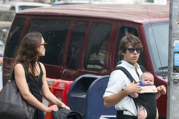 James Righton Keira Knightley and Family Go For a Family Walk