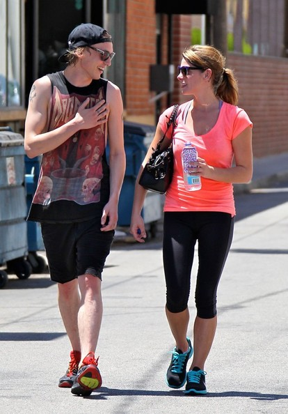 Jamie Campbell Bower And Ashley Greene