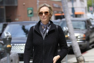 Jane Lynch Jane Lynch Is Seen Out Shopping in Beverly Hills